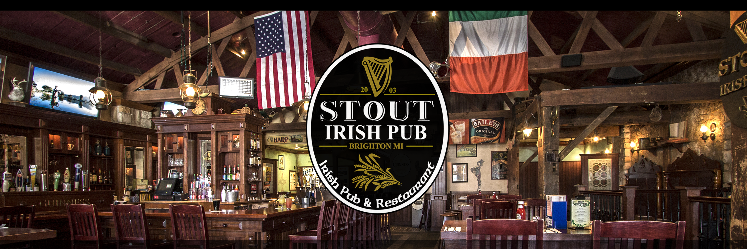 Stout Irish Pub Brighton Livingston County Michigan